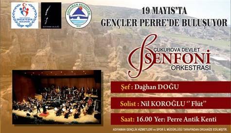 Çukurova Senfoni Orkestrası konseri