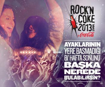 Rock n Coke 2013 biletleri